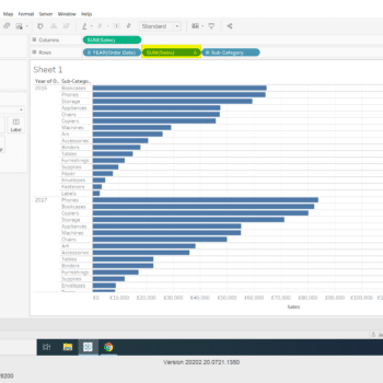 Quickly Filter Sales by Rank in Tableau