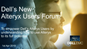 How Dell EMC's Internal User Group is Driving Use of Alteryx